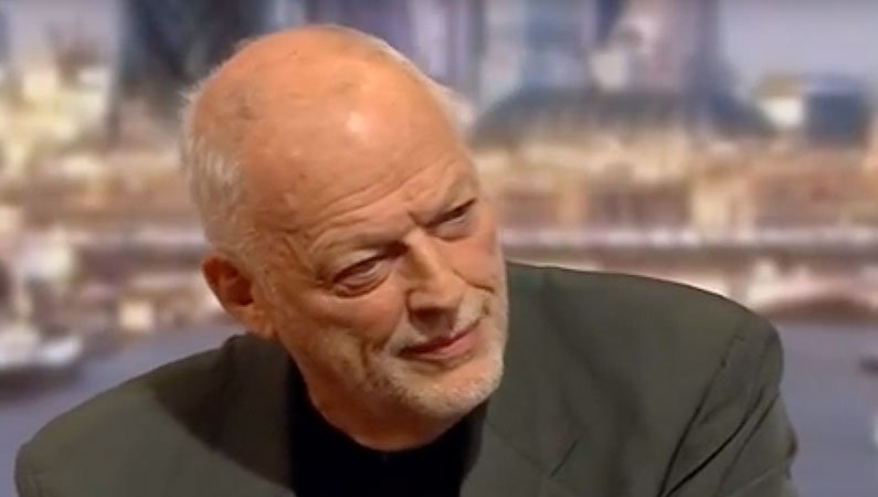 David Gilmour talks about the Liberty Choir on the Andrew Marr show