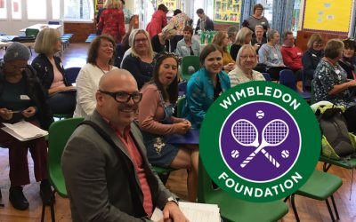 Liberty Choir Volunteer Open Day funded by Wimbledon Foundation